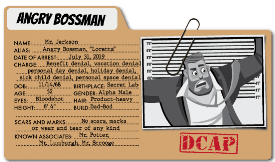 Captain Contributor vs. Bossman